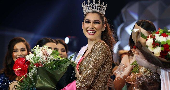 سانا محمود ملكة جمال إقليم كردستان العراق تفوز بلقب ملكة جمال العراق لعام 2018، 20 ديسمبر/ كانون الأول 2018