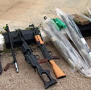 الأمن السوري يضبط إرهابيين ينقلون أسلحة من درعا إلى القنيطرة