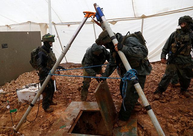نفق حزب الله لبنان جنود إسرائيليون