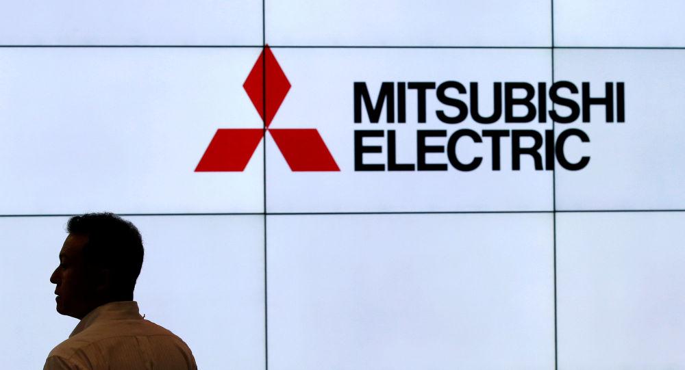 Логотип компании Mitsubishi Electric Corp