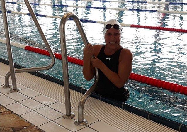 السباحة المصرية نجوى غراب