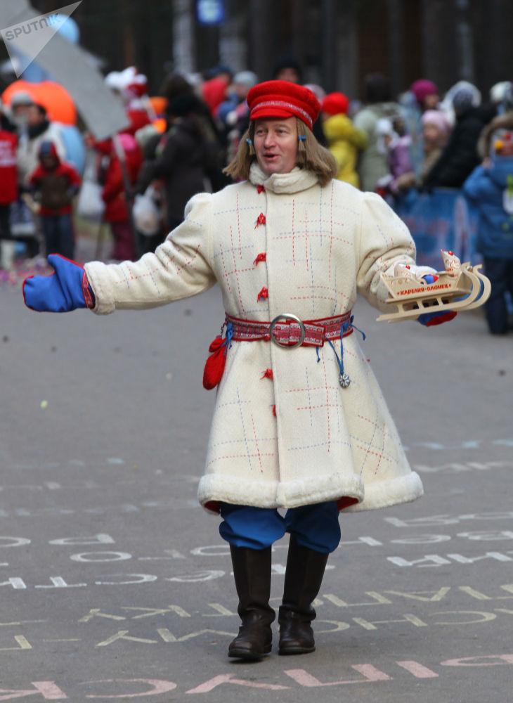 الاحتفال برأس السنة في فيليكي أوستيوغ، منطقة فولوغدا الروسية