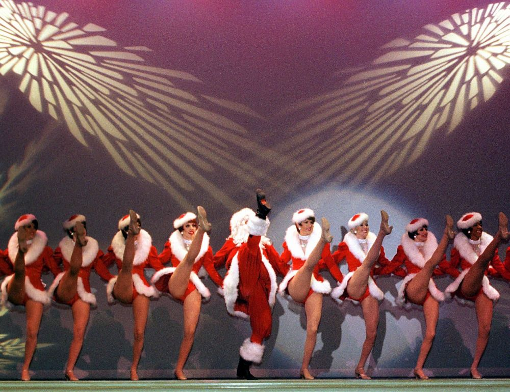 عرض بابا نويل عام 1999 في لاس فيغاس