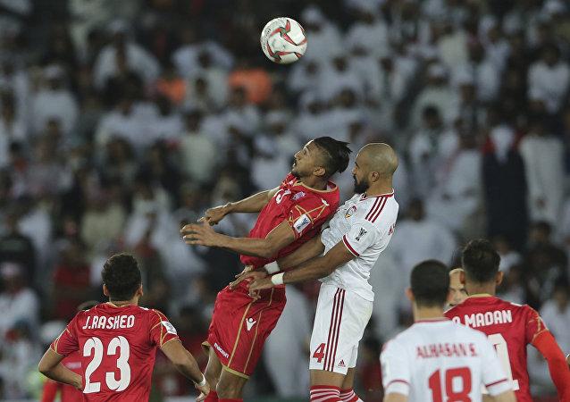 من مباراة افتتاح كأس الأمم الآسيوية بين الإمارات مع البحرين