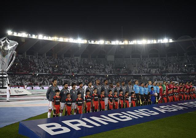 مباراة الافتتاح بين الإمارات والبحرين في بطولة كأس أسيا