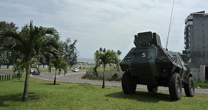 الجيش الغابوني