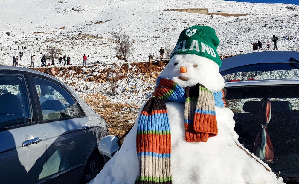 فصل الشتاء حول العالم - بلودان، سوريا 4  يناير/ كانون الثاني 2019