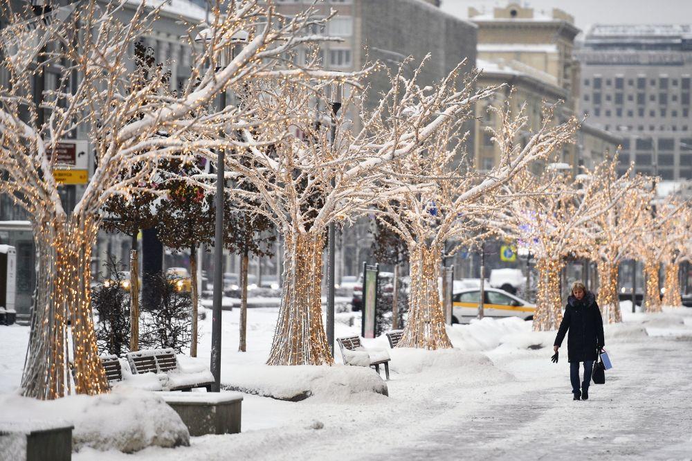 فصل الشتاء حول العالم - موسكو، روسيا  يناير/ كانون الثاني 2019