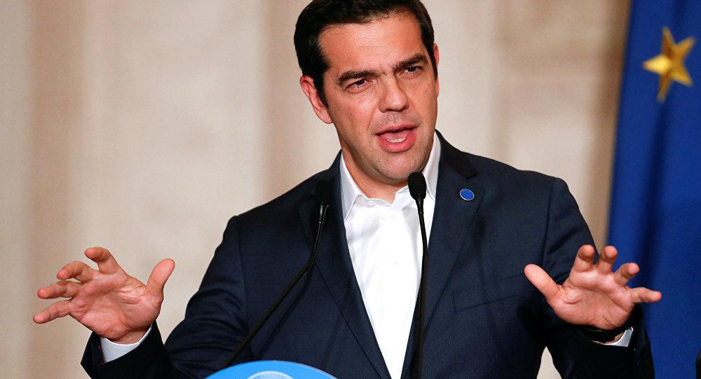 رئيس الوزراء اليوناني، اليكسيس سيبراس