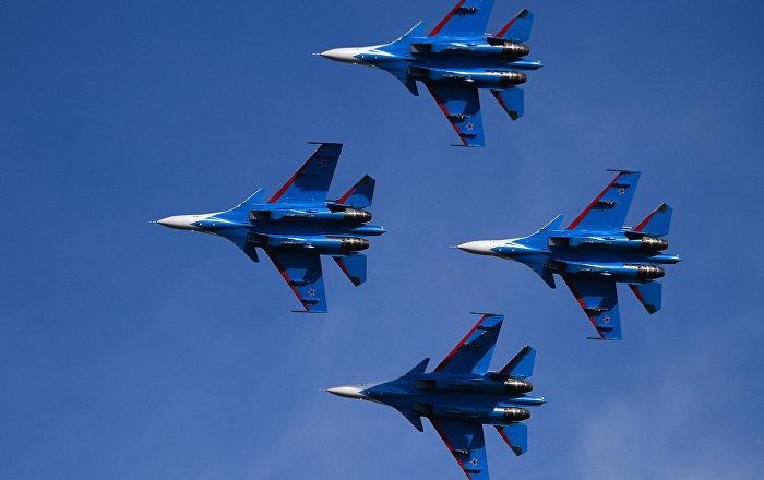 مقاتلات روسية تعترض طائرات أمريكية ونرويجية… فيديو