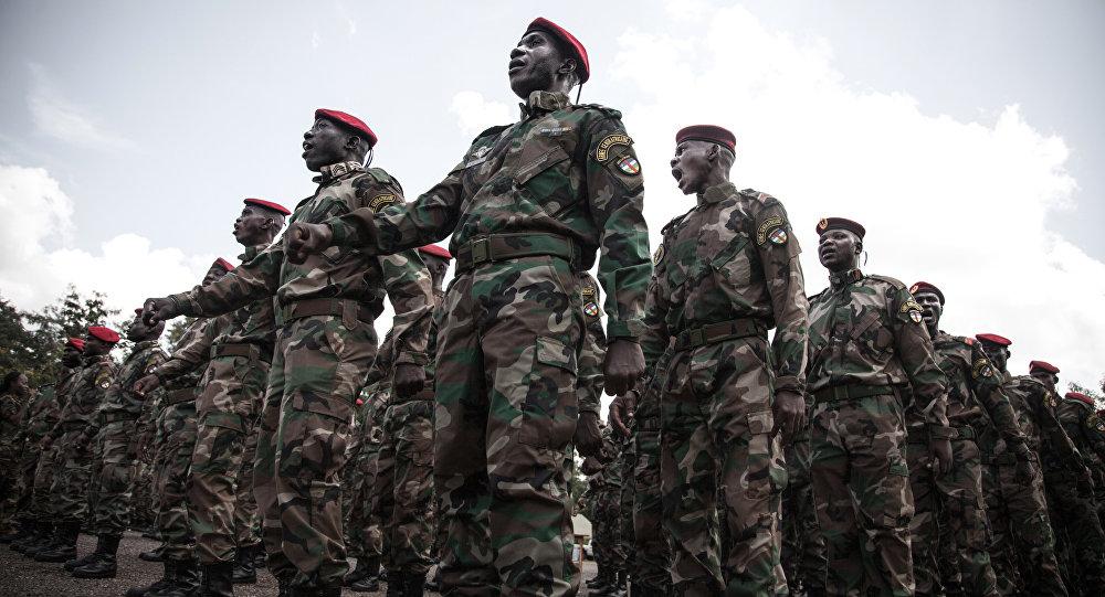 جيش أفريقيا الوسطى