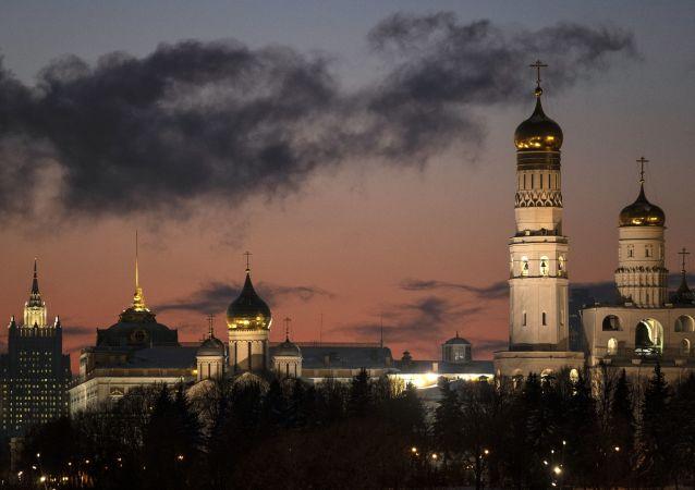 مدينة موسكو في فصل الشتاء 2019