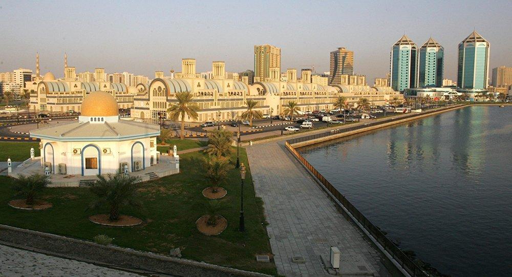 مناظر عامة للمدن العربية - مدينة الشارقة، الإمارات العربية المتحدة