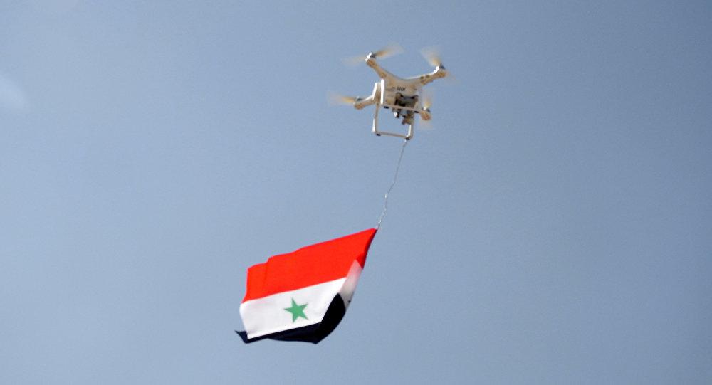 الجيش السوري يستهدف بطائرة مسيرة مذخرة اجتماعا للنصرة
