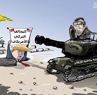 حليفي، مش حليفي...ما حدا يقرب على الأكراد!