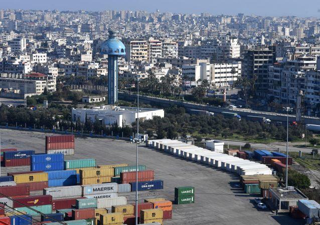ميناء اللاذقية السوري
