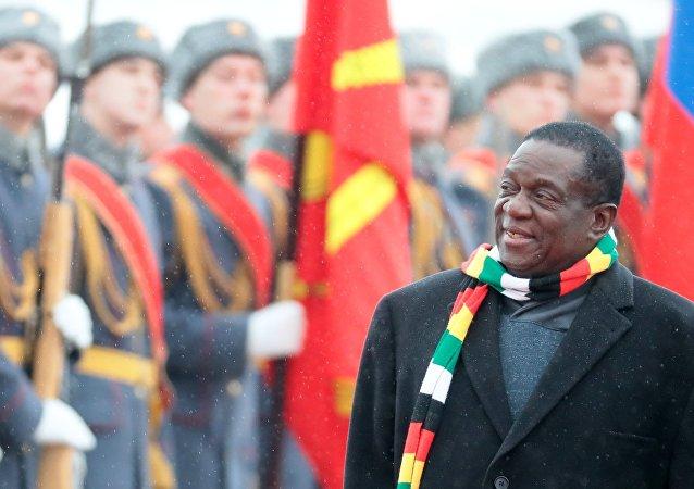 زيارة رئيس زيمبابوي إيمرسون منانغاغوا إلى موسكو