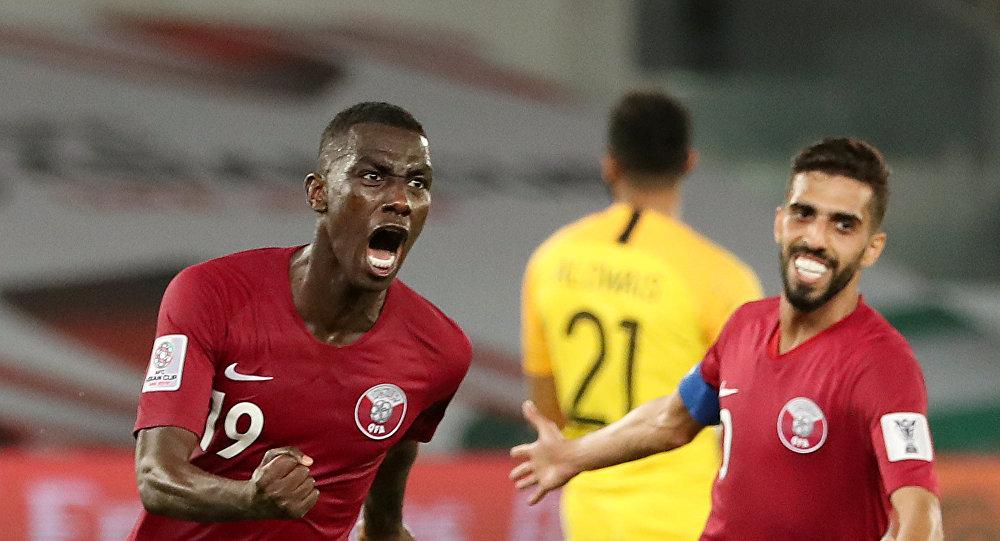 من مباراة منتخب قطر أمام السعودية في كأس آسيا 2019