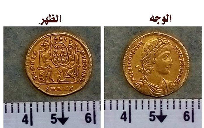 بعثة-مصرية-تعثر-على-عملات-ذهبية-نادرة-في-الوادي-الجديد