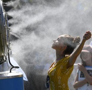 موجة حر تضرب مدينة يلبورن، أستراليا 14 يناير/ كانون الثاني 2019