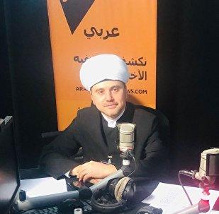 الدكتور روشان عباسوف النائب الأول لرئيس مجلس شورى المفتين في روسيا
