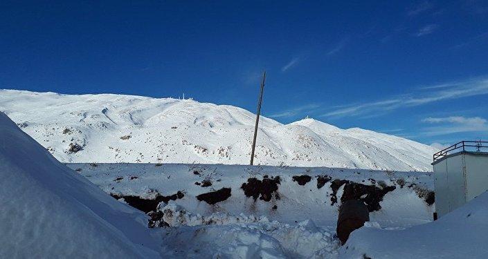 القنيطرة مرصد جبل الشيخ