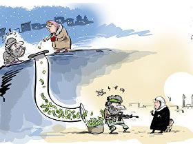 الأمن الروسي يعترض خلية تدار من سوريا لجمع الأموال لـداعش