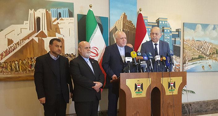 وزير النفط الإيراني بيجن زنغنه
