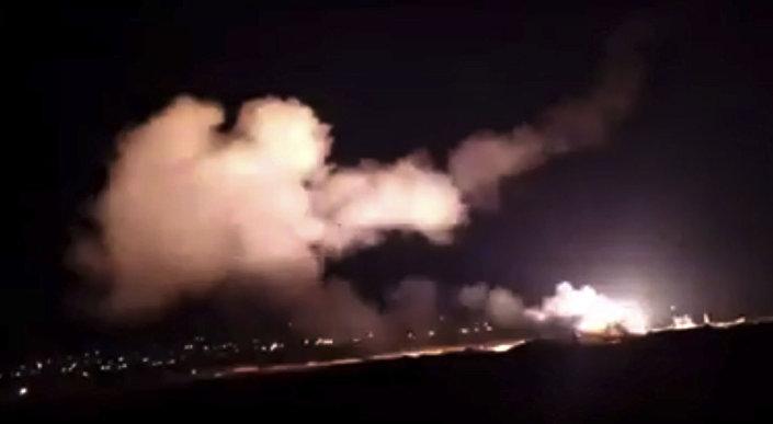 الدفاع الجوي السوري يصد هجوما صاروخيا إسرائيليا