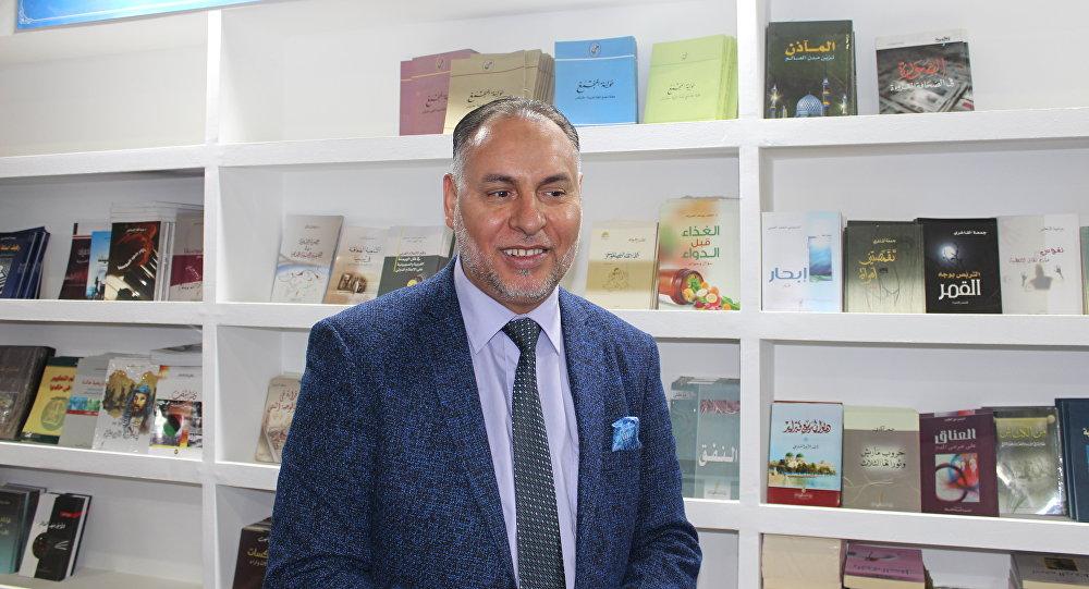 جمعة الفاخري رئيس هيئة الثقافة الليبية