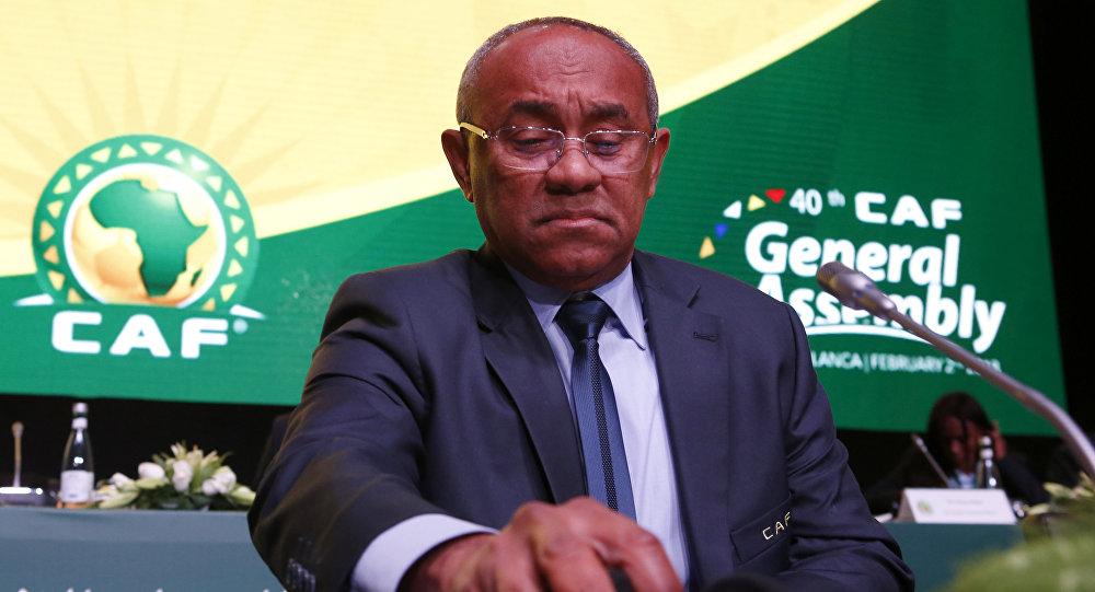 أحمد أحمد رئيس الاتحاد الأفريقي لكرة القدم