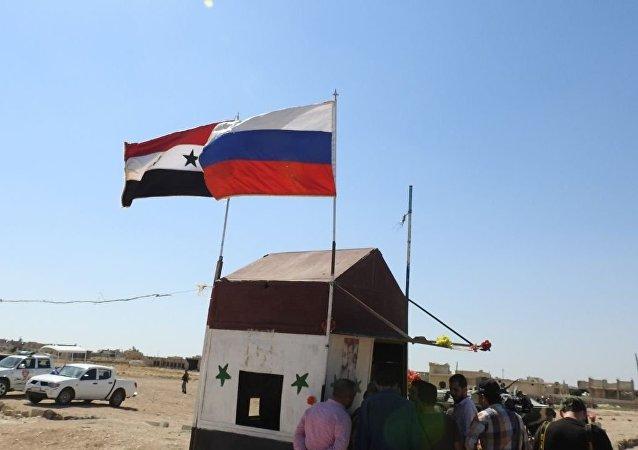 السلطات السورية والشرطة الروسية يعيدان افتتاح ممر أبو الظهور شرق إدلب