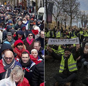 مسيرات الأصفر والأحمر