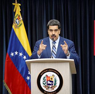 الرئيس الفنزويلي نيكولاس مادورو، كاراكاس، فنزويلا 12 ديسمبر/ كانون الأول 2018