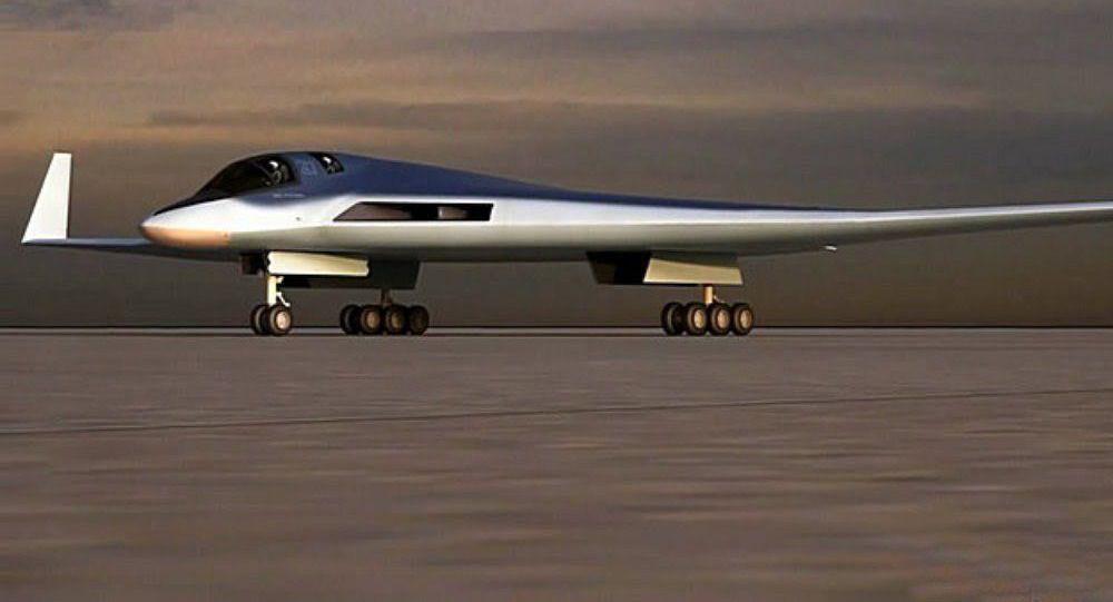 رسم بياني لطائرة قاذفة روسية جديدة