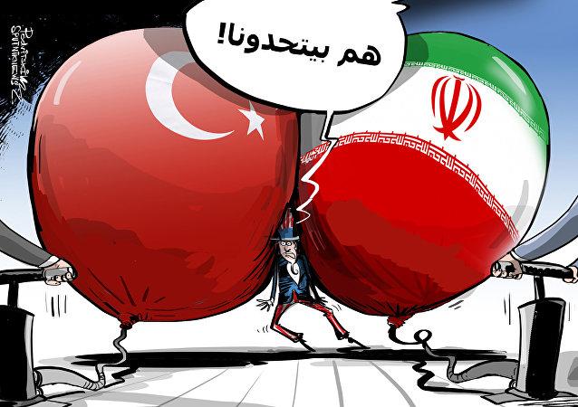 أمريكا تخشى منافسة تركيا وإيران