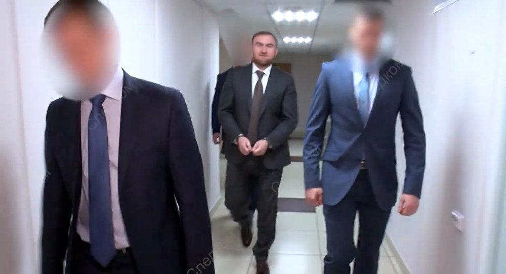 اعتقال السيناتور أراشكوف
