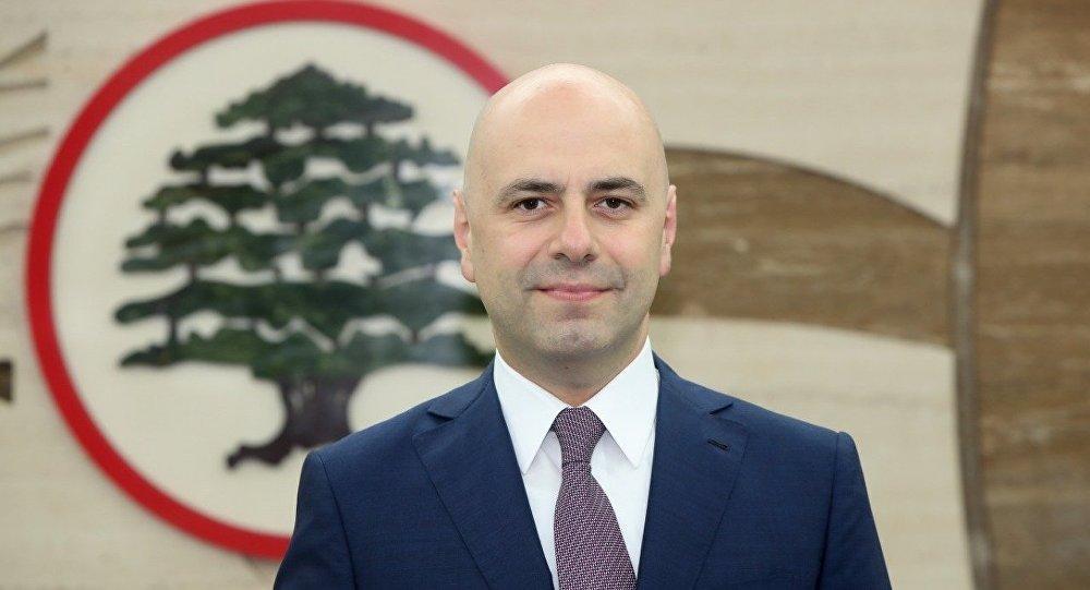 نائب رئيس الحكومة اللبنانية غسان حاصباني