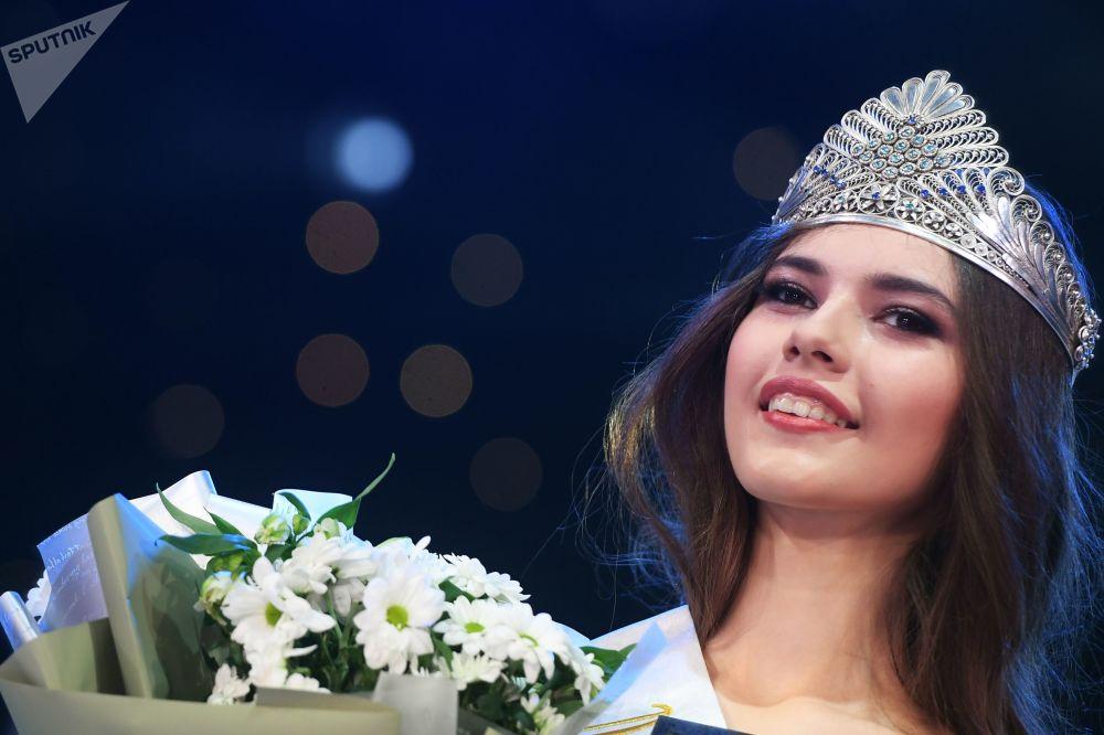 رالينا أرابوفا - الفائزة في مسابقة ملكة جمال تتارستان - 2019