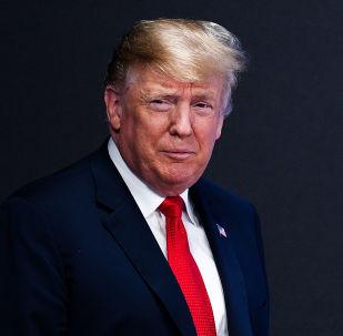 الرئيس دونالد ترامب خلال قمة المجموعة 20 في بوينس آيروس، الأرجنتين 30 نوفمبر/ تشرين الثاني 2018