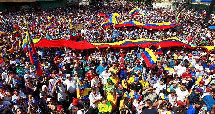 مظاهرات فنزويلا