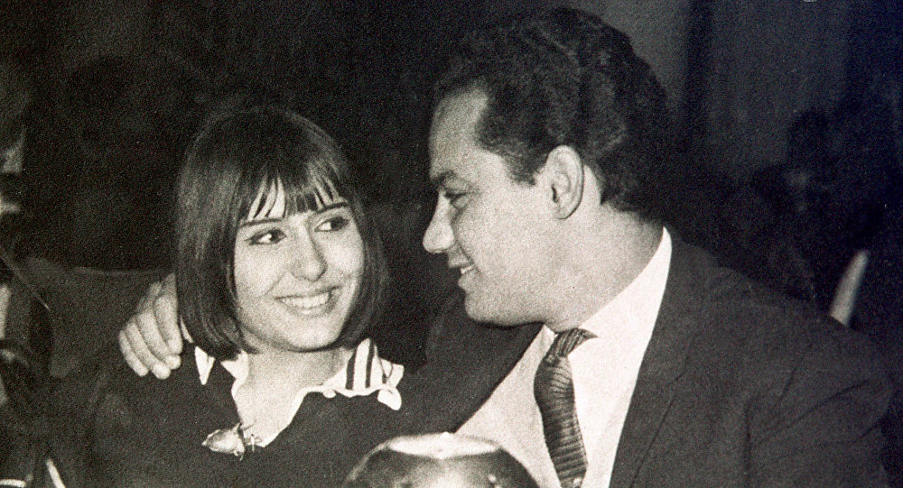 الفنانة المصرية سهير رمزي، القاهرة، 1970