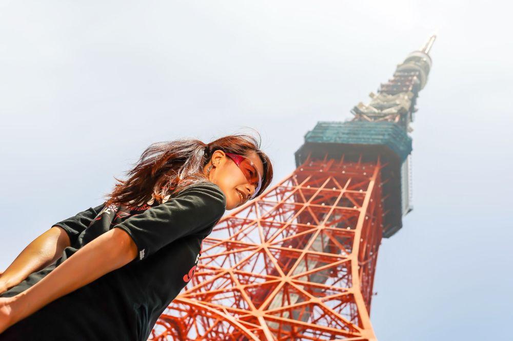برج الإذاعة والتلفزيون في طوكيو