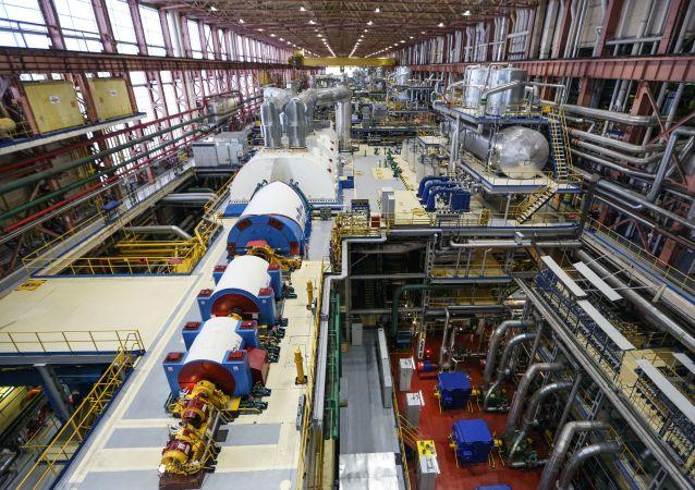 محطة الطاقة النووية  كولسكايا في منطقة مورمانسك الروسية