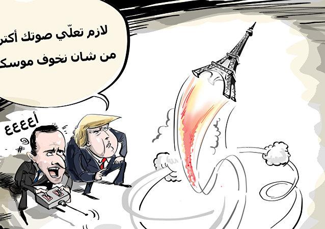 بعد خروج الولايت المتحدة من معاهدة الحد من الصواريخ، فرنسا تجري مناورات نووية!