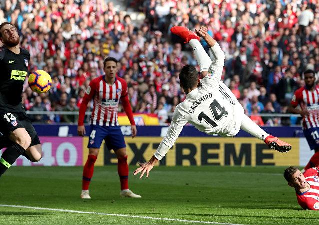 مباراة ريال مدريد وأتلتيكو