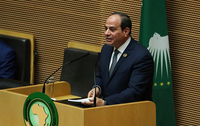السيسي يعلن إلغاء قمة الاتحاد الإفريقي الثانية