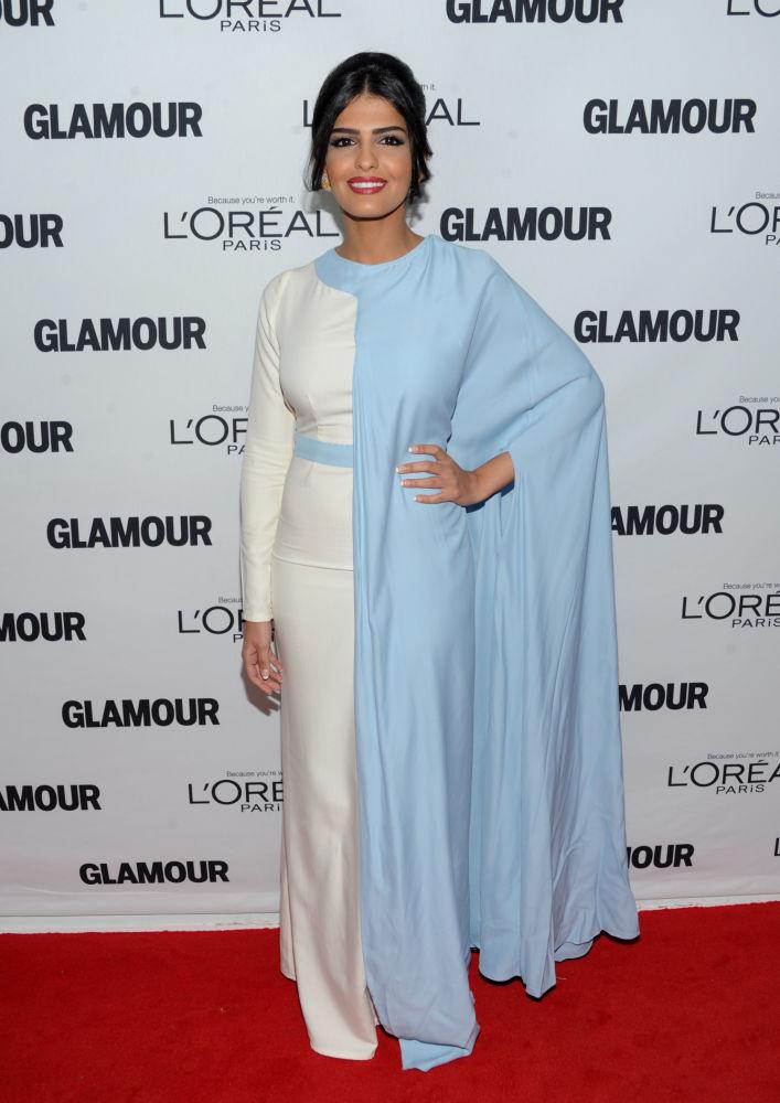 الأميرة السعودية أميرة الطويل، أثناء حضورها للحفل السنوي الـ 23 لتوزيع جوائز Glamour Women of the Year نيويورك، نوفمبر/ تشرين الثاني 2011