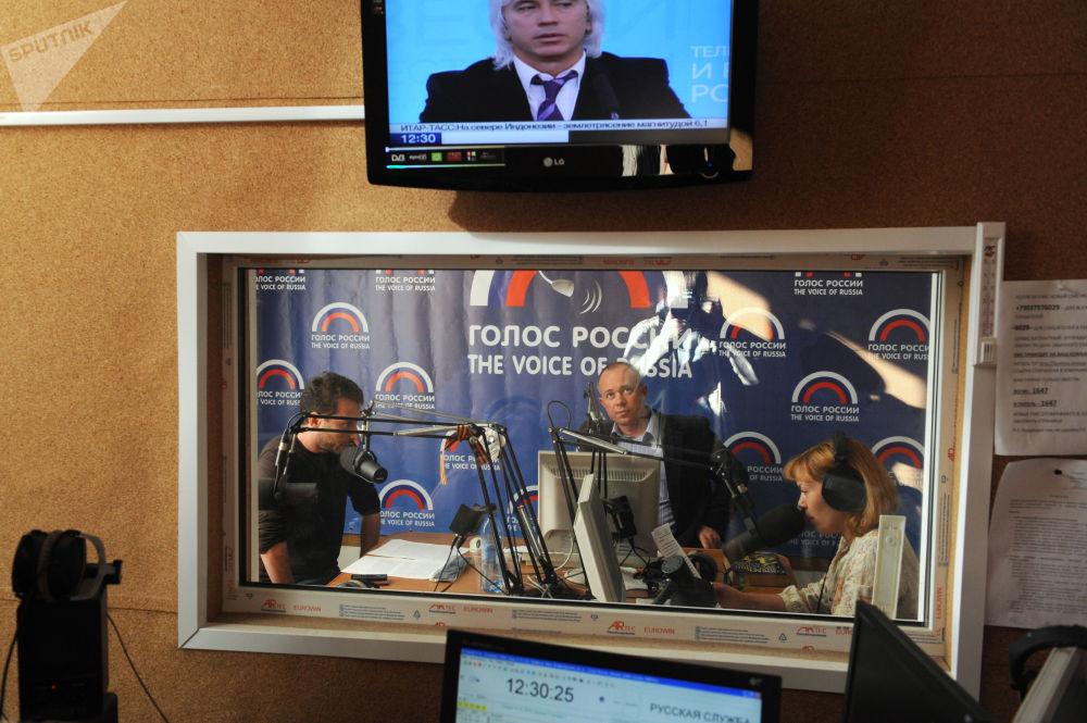 استوديو البث الإذاعي صوت روسيا
