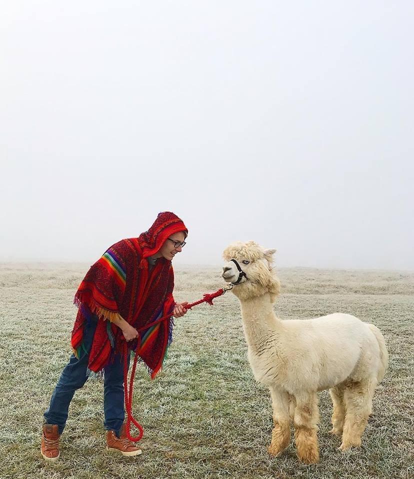 الروسي إيليا سميرنوف صاحب مزرعة لحيوان الألبكة